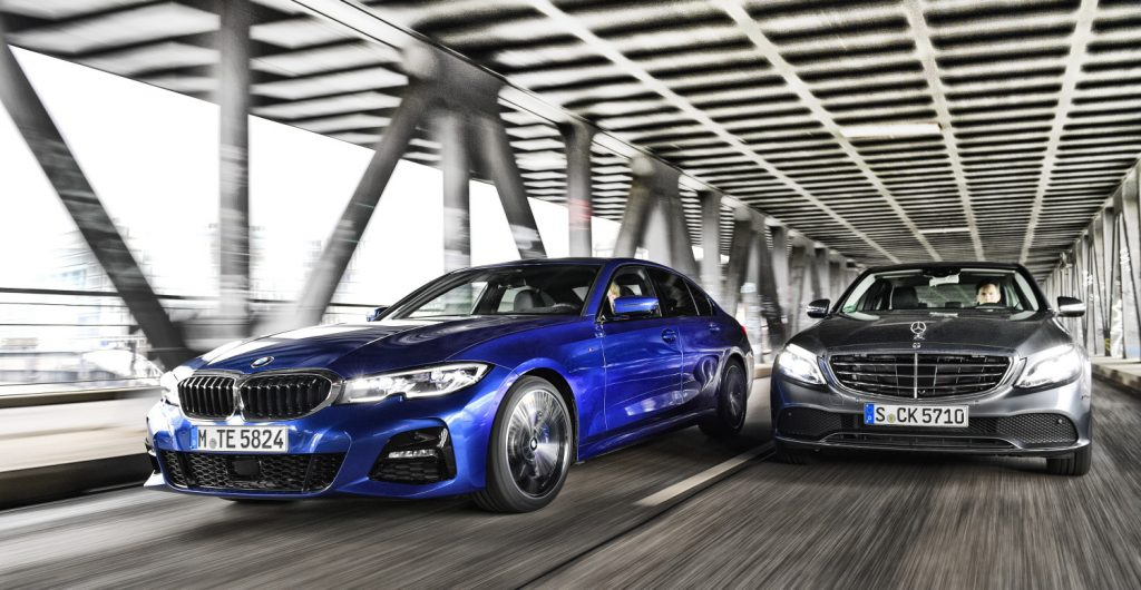 BMW 330i vs MB C300