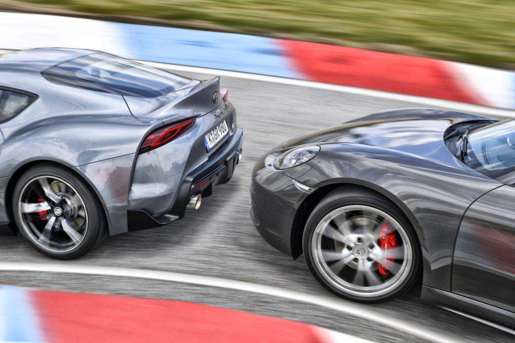 Toyota Supra & Porsche Cayman