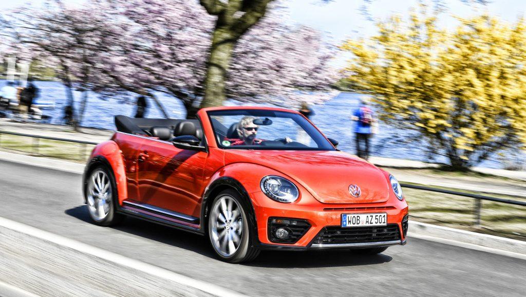 ...der letzte VW Käfer Cabrio ..