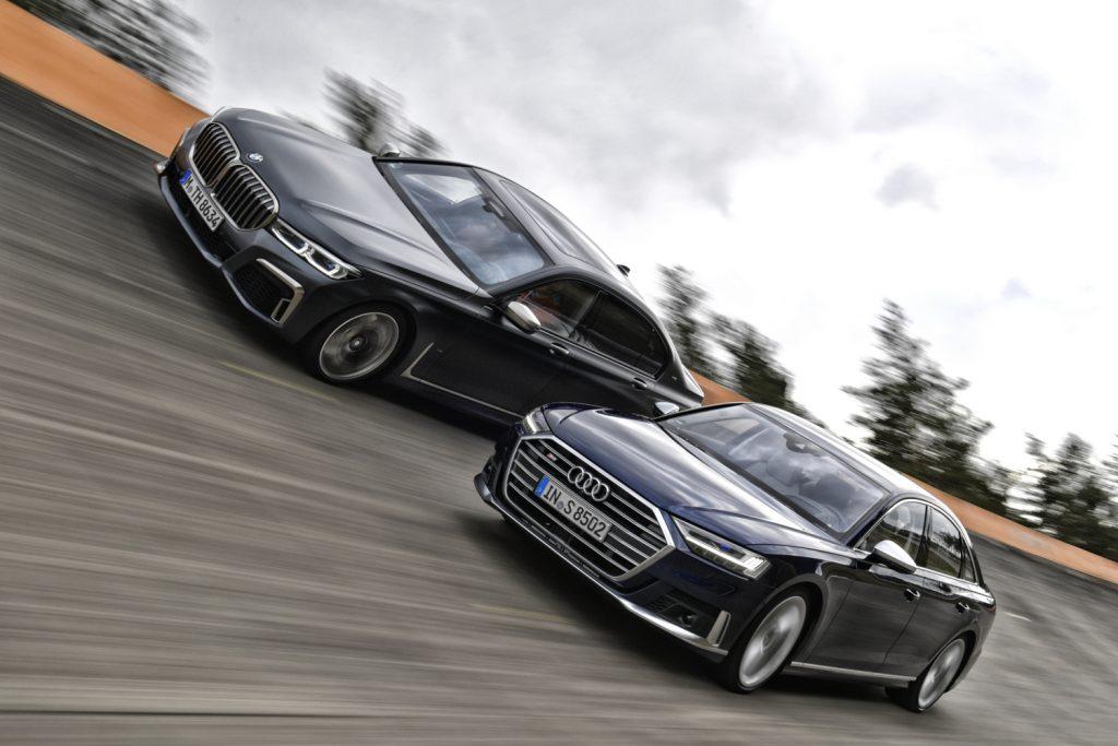 BMW 760Li  &  Audi S8